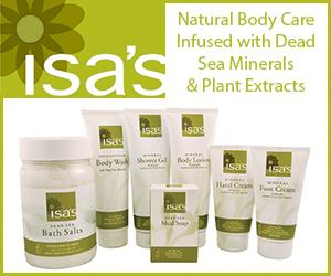 Isa's Naturals 300 x 250